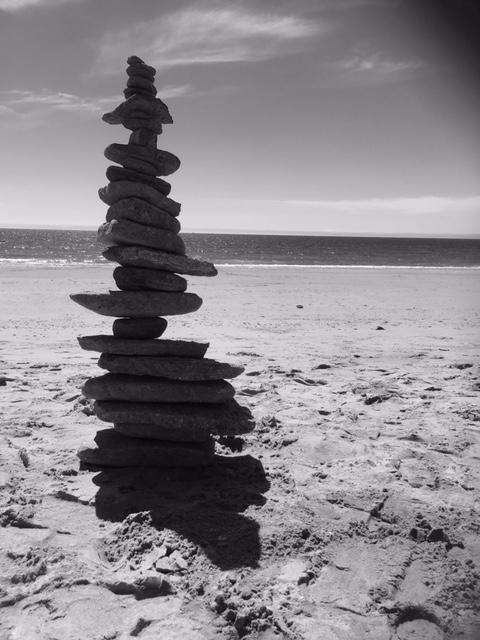 Fossil Slabs Beach Experiment